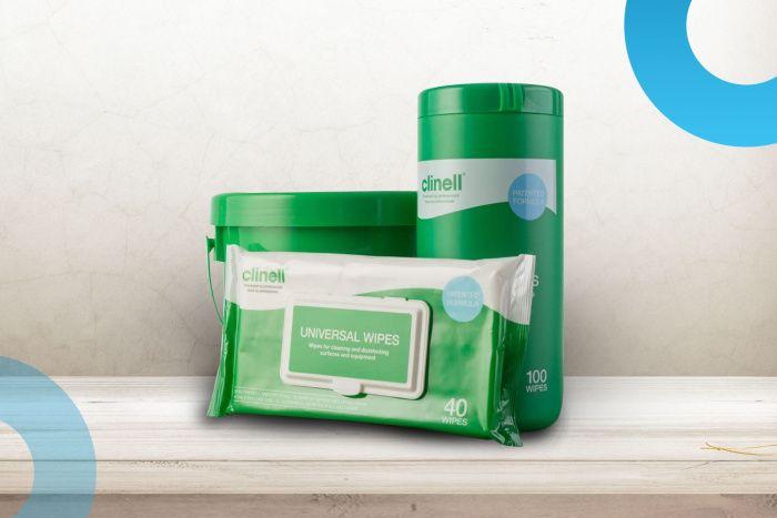 Nově u nás naleznete profesionální dezinfekční produkty Clinell