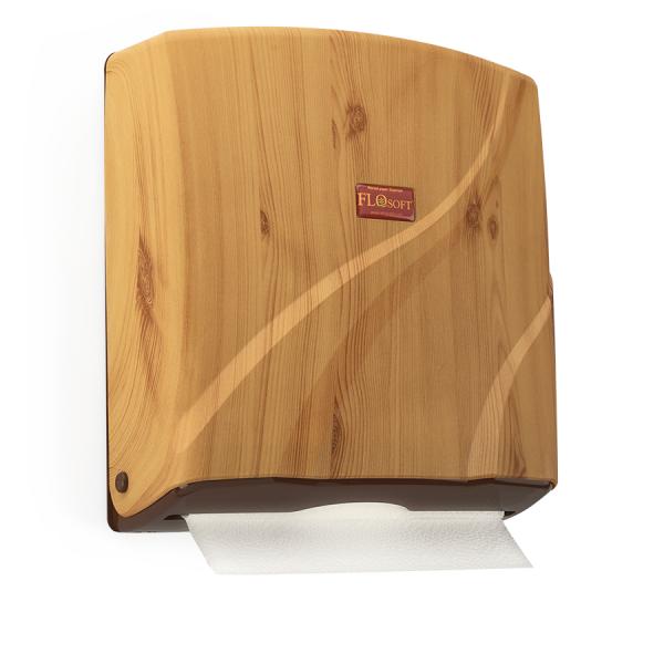FLORA Zásobník na papírové ručníky ZZ - imitace dřevo