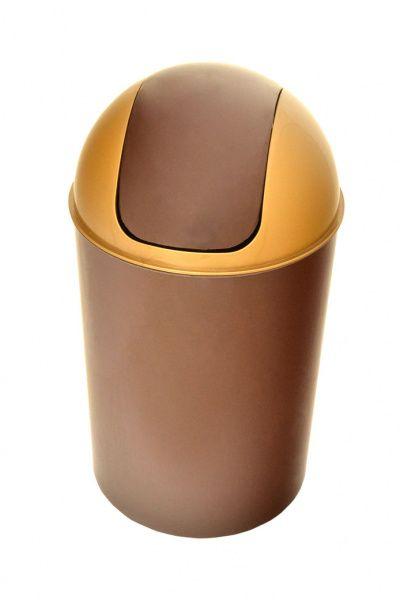 AllServices Koš odpadkový kulatý s víkem OSCAR 7 l - plast