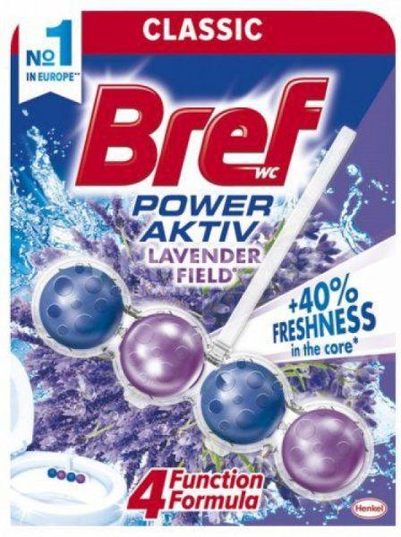 Bref Power Aktiv - WC blok - Lavender - kuličky