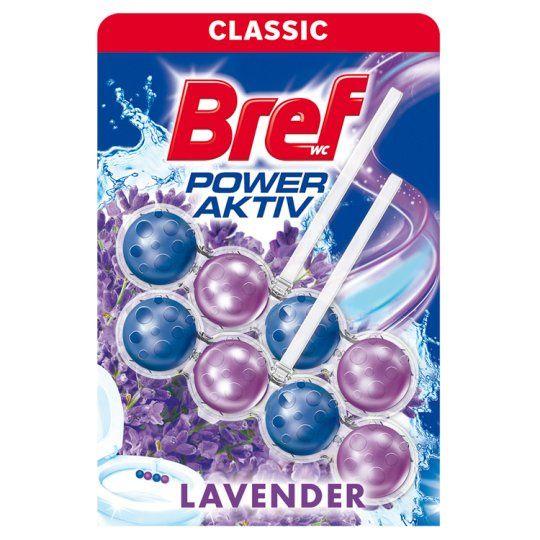 Bref Power Aktiv - WC blok - Lavender - kuličky 2 kusy