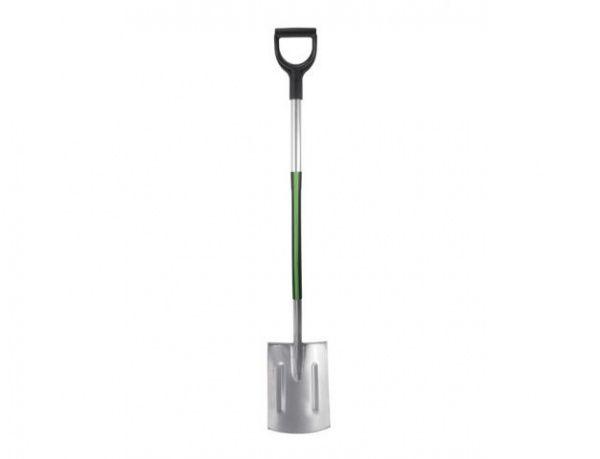 Stalco Garden rýč rovný kalený, kovová násada 120 cm
