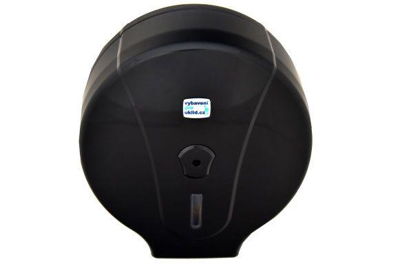Zásobník WC papíru Jumbo 280 mm - černý