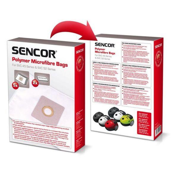 Sencor sáčky do vysavače SVC 45/52 5 kusů + 2 filtry