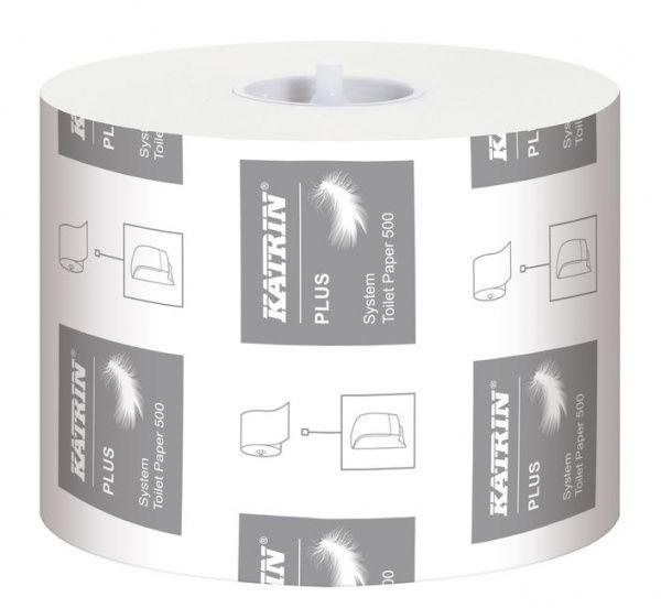 Katrin Plus Systém toaletní papír, 3 vrstvy, 100% - 36 ks