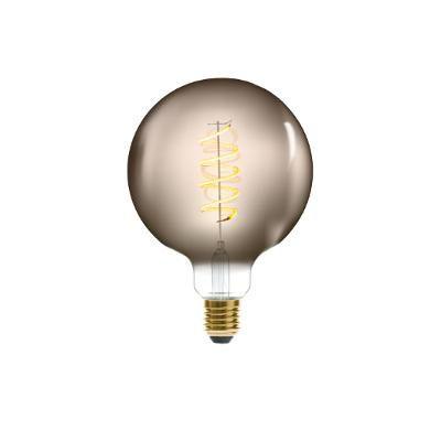 Levně Atmosphera Designová LED žárovka Globe Vintage Smoke