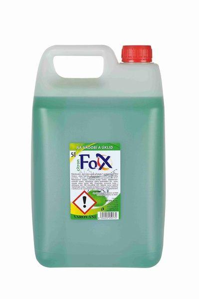 Prostředek na nádobí 5 l Fox citron