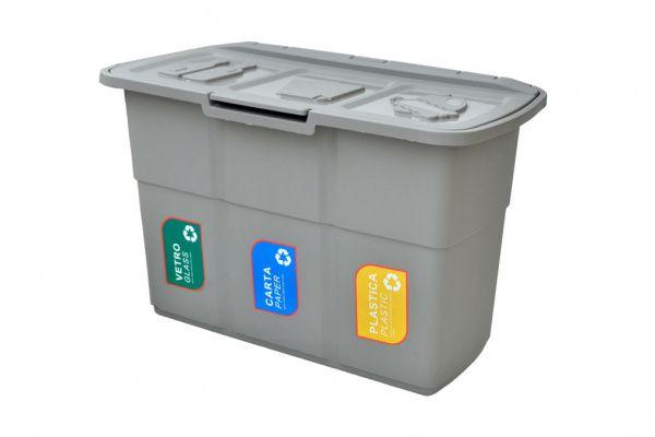 Odpadkový kontejner na tříděný odpad ECOPAT