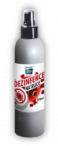 Power Air dezinfekce na ruce 250 ml