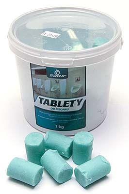 Tablety kostky do pisoárů 1 kg - dračí mast