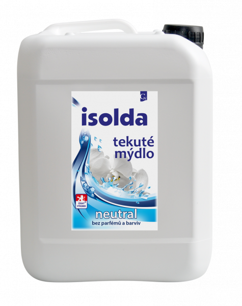 ISOLDA NEUTRAL Tekuté mýdlo 5 l