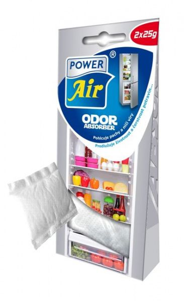 Power Air Pohlcovač pachu a vlhkosti do ledničky 2 ks