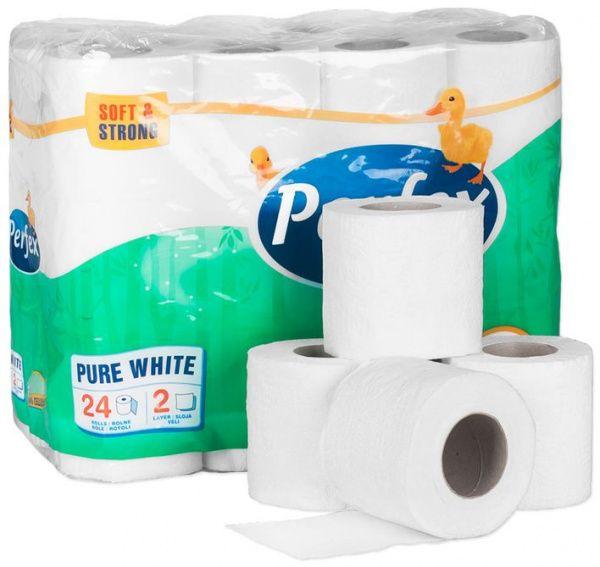 Toaletní papír Perfex Plus BONI 24 ks