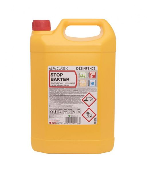 Levně STOP BAKTER premium dezinfekce - 5 l