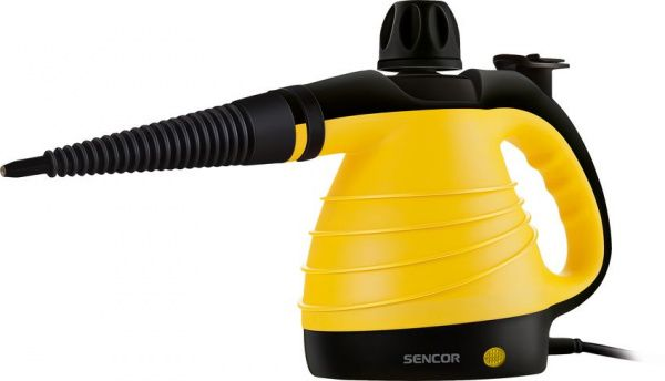 Sencor parní čistič SSC 3001YL - žlutý