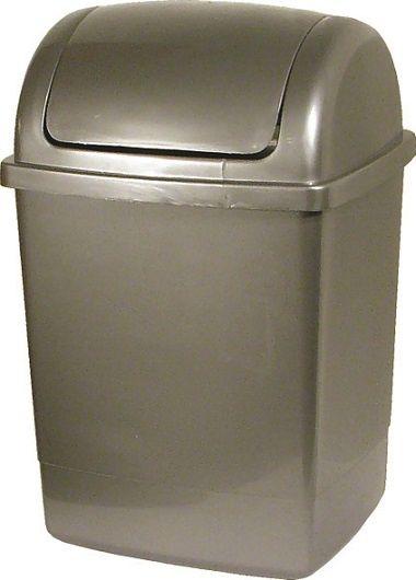 AllServices Koš odpadkový s víkem KLIP 26 l, hranatý