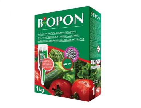 BIOPON hnojivo na rajčata, okurky a zeleniny 1 kg