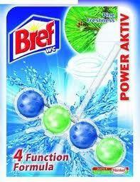Bref Power Aktiv - WC blok - Pine - kuličky
