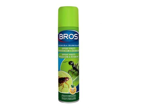 Insekticid BROS zelená síla spray na mravence a šváby - 300 ml