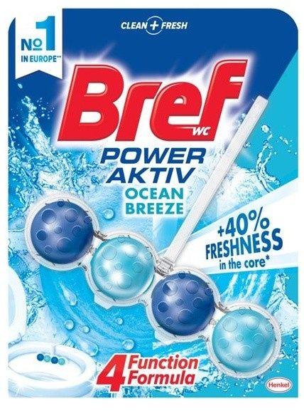 Bref Power Aktiv - WC blok - oceán - kuličky
