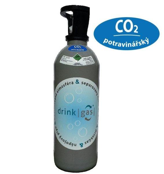DrinkGAS Plyn 10 kg CO2 + tlaková lahev