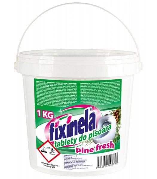 Fixinela tablety do pisoáru 1 kg - pine fresh