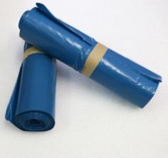 Pytel na odpad 120 l, role 25 ks, 700x1100, 40 um, modré, LDPE