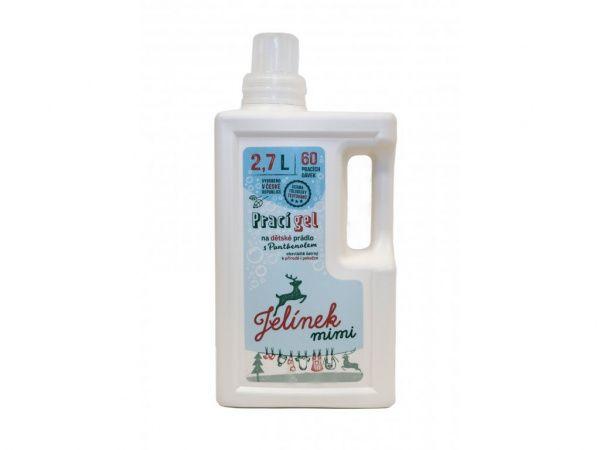 Jelínek prací gel na dětské prádlo s panthenolem 2,7 l