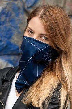 nanoSPACE Antivirový šátek nanoSPACE - modrý
